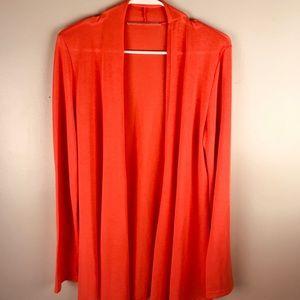 41 Hawthorn drape front open cardigan